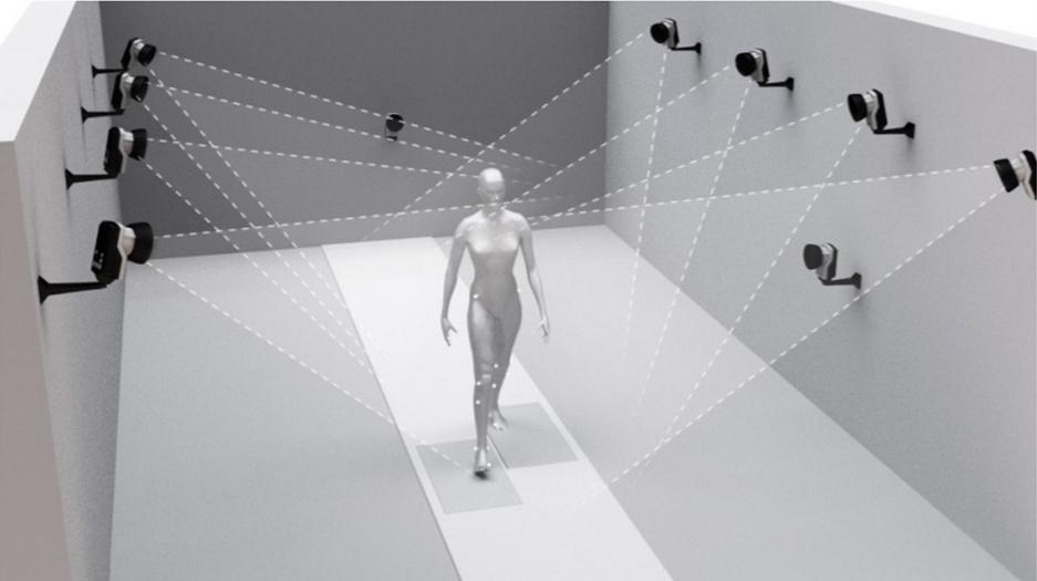 Sistem kamer za optično sledenje